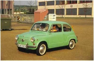 все о автомобиле фиат 600